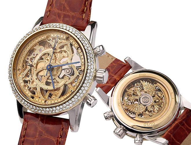 a669cb8ff75d Какие часы выбрать в подарок  Конечно же, те самые, создающие неповторимое  ощущение роскоши! Уникальные скелетоны ручной работы с открытым взгляду ...