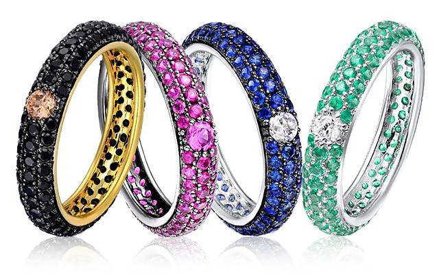 Яркие кольца